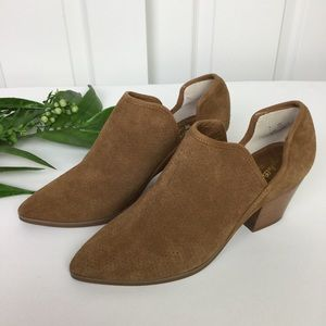 Seychelles Sashay Suede Leather Ankle Booties Sz 8